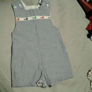 The Bailey Boys one piece romper